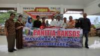 Masyarakat Lampung se-Jabodetabek Beri Bantuan Kemanusiaan