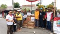 Masyarakat Palas Kembali Salurkan Bantuan Korban Gelombang Tinggi