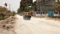 Masyarakat Palas Nilai Pemkab Lambat Perbaiki Jalan Poros