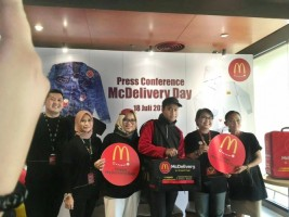 McDonald's Gelar Perayaan McDelivery Day