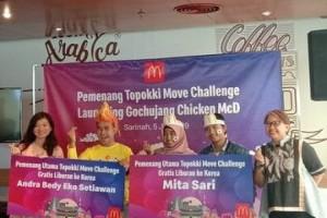"""McDonald's Umumkan Pemenang """"Topokki Move Challenge"""""""