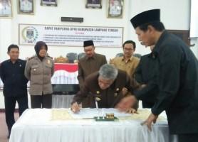 Mekanisme Pemilihan Disahkan, Empat Nama Potensial Kandidat Wabup Lamteng Beredar