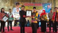 Melukis Mural Flyover Masuk Catatan Museum Rekor Indonesia Dengan Peserta Terbanyak