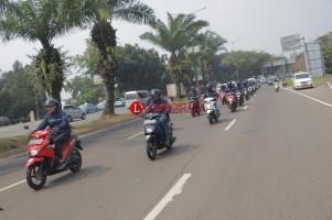 Mencoba Suzuki Nex II Dipadatnya Jalanan Ibukota