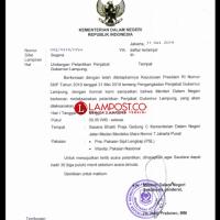 Mendagri Lantik Penjabat Gubernur Lampung, Minggu