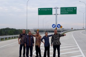 Menteri BUMN: Tol Trans Sumatera Bukti Sinergi antar-BUMN Karya