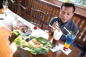 Menyantap Menu Nusantara dari Ketinggian