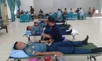 Meriahkan HUT ke-73 RI, PTPN VII Adakan Donor Darah