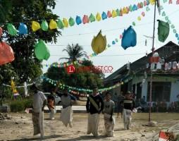 Meriahkan HUT RI, Desa Bangunrejo Gelar Berbagai Perlombaan Unik