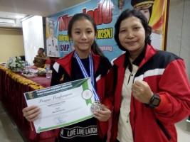 Meski Terjatuh, Karen Candatara Sumbang Medali di O2SN