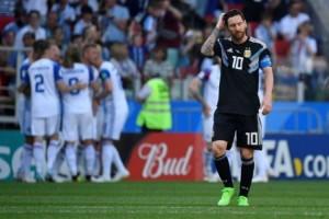 Messi Gagal Penalti, Argentina Diimbangi Islandia