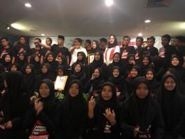 Milenial Muslim Bersatu Jatim Deklarasikan Dukungan untuk Jokowi-Ma'ruf Amin