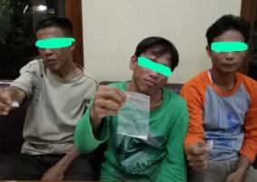 Miliki Sabu, 4 Warga Rajabasa Diciduk Polisi