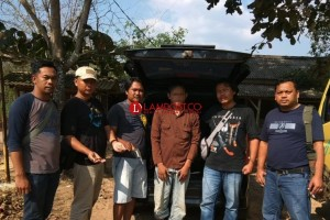 Miliki Senpi, Mandor Konstruksi Diamankan Polisi