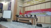 Minggu, Polda Gelar Pasukan Pengamanan Pemilu 2019
