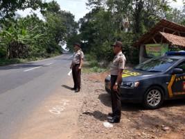 Minimalisir Kriminalitas di Jalanan, Polres Lampura Gelar Giat Patroli