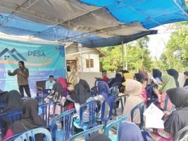 Mitra Bentala dan BEM Unila Edukasi Kelola Sampah