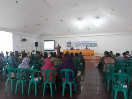 Mitra Bentala Sebut Hanya 2 dari 17 Kecamatan Di Lamsel Deklarasi Stop Buang Air Besar Sembarangan.