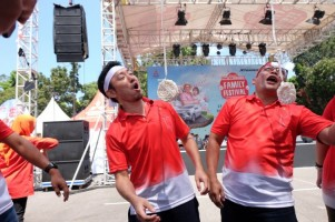 Mitsubishi Gelar Xpander Pinter Bener Family Festival di Yogyakarta