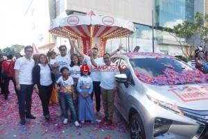 Mitsubishi Gelar Xpander Tons of Real Happiness di Palembang
