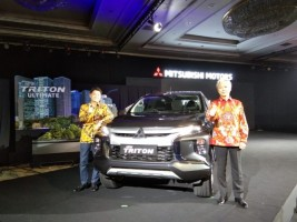 Mitsubishi Resmi Kenalkan New Triton di Indonesia