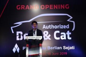 Mitsubishi Resmikan Fasilitas Bodi & Cat di Balikpapan