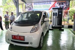 Mitsubishi Sambut Positif Peresmian Charging Station di Indonesia