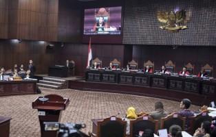 MK Mulai Gelar Sidang Sengketa Pilpres