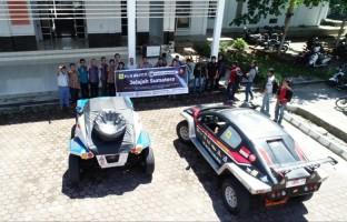 Mobil Listrik Blits Berhasil Tempuh Jarak 1.605 Km di Bengkulu