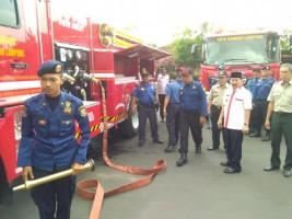 Mobil Pemadam Kota Bandar Lampung Lima Belas Tahun Tak Pernah Diperbaharui