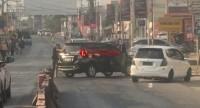 Mobil Yang Dipakai DPO Baku Tembak dengan Polres Lampung Diduga Hasil Curian