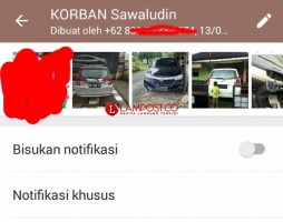 Mobilnya Dibawa Kabur, Puluhan Orang Buat Grup WhatsApp