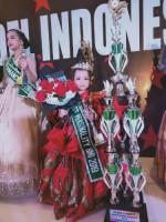 Model Cilik Asal Lampung Raih juara Tingkat Nasional