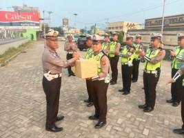 Motivasi Personel, Satlantas Polres Pesawaran Berikan Reward kepada Anggota Berprestasi