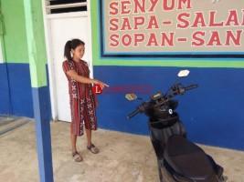 Motor Guru SDN3 Sekampung Raib Diparkir di Sekolah