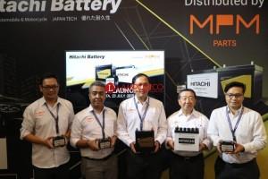 MPM Parts Jadi Distributor Tunggal Aki Hitachi di Indonesia