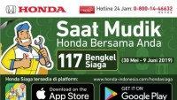 Mudik Lebaran, Honda Gelar Program Emergency Service