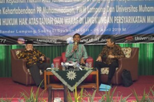 Muhammadiyah Lokakarya Kepastian Hukum Tanah dan Wakaf