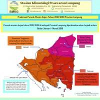 Musim Hujan, Waspadai Bencana di Wilayah Lampung