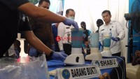 Musnahkan Barang Bukti Sabu Jaringan Aceh, BNN Blender 6 Kg Sabu