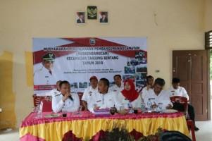 Musrenbangcam Tanjungbintang Pertama Kali di Lampung Gunakan e-Planning