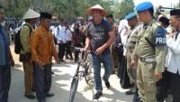 Naik Sepeda, Umar Ahmad Hadiri Gebyar PAI 2019