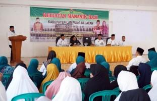 Nanang Ermanto Buka Bimbingan Manasik Haji Bagi 399 Calon Jamaah Haji Lampung Selatan