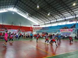 Nanang Ermanto Buka Turnamen Bola Voli Antar Kecamatan
