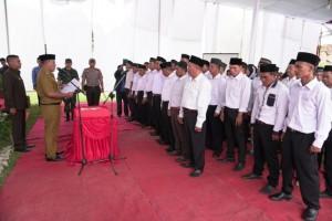 Nanang Ermanto Kukuhkan 70 Anggota BPD dari Delapan Desa di Katibung