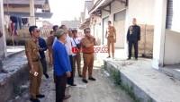 Nanang Prihatin Kondisi Pasar Tradisional Desa Palasjaya