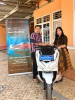 Nasabah Lampung Raih Hadiah Panin Super Bonanza