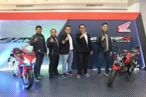 New Honda CB 150R StreetFire dan CBR 250RR Resmi Mengaspal di Lampung