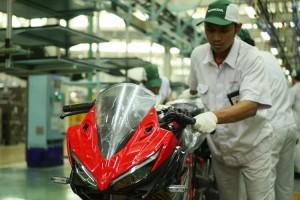 New Honda CBR150R Tampil Lebih Sporty
