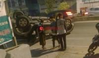 Ngeri, Sembilan Personel Sabhara Polda Lampung Alami Lakalantas